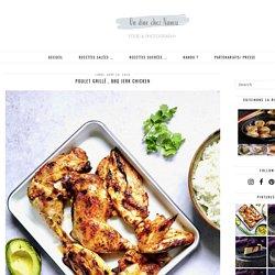 Poulet grillé , BBQ Jerk chicken