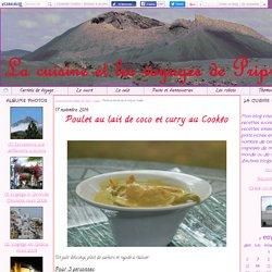 Poulet au lait de coco et curry au Cookéo