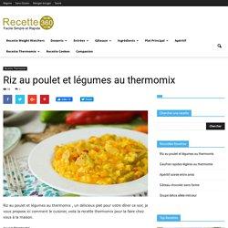 Riz au poulet et légumes au thermomix