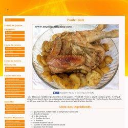 Poulet Roti Africain