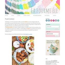 Poulet tandoori - La Fourmi Elé