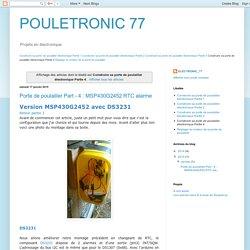 POULETRONIC 77: Construire sa porte de poulailler électronique Partie 4