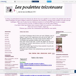 Index des tutos