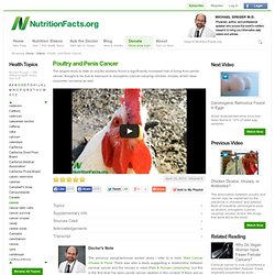 Poultry and Penis Cancer
