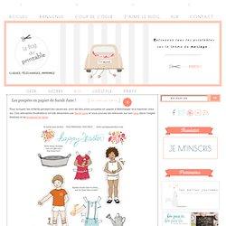 Les poupées en papier de Sarah Jane ! - Le blog du printable