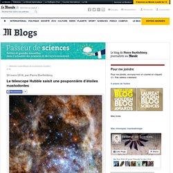 Le télescope Hubble saisit une pouponnière d'étoiles mastodontes