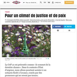 Pour un climat de justice et de paix