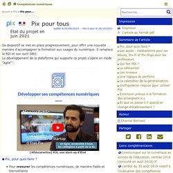 Pix pour tous - Compétences numériques
