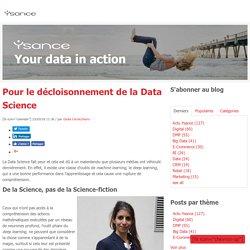 Pour le décloisonnement de la Data Science