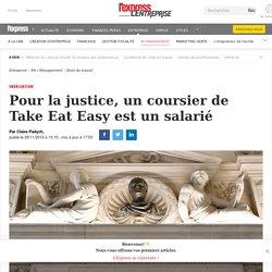 Pour la justice, un coursier de Take Eat Easy est un salarié