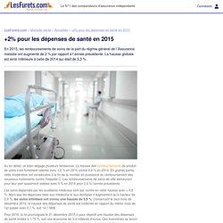 +2% pour les dépenses de santé en 2015
