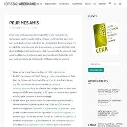 CV Idriss J. Aberkane
