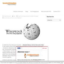 Pour ou contre Wikipédia ?
