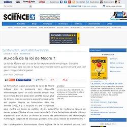 Au-delà de la loi de Moore ?