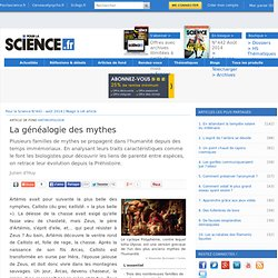 La généalogie des mythes
