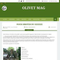Pour siroter du sxxxxx - Olivet Mag