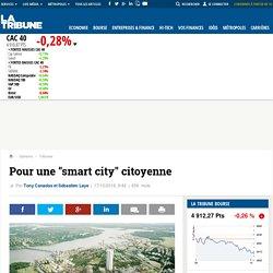 """Pour une """"smart city"""" citoyenne"""