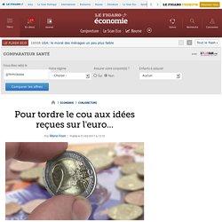 Pour tordre le cou aux idées reçues sur l'euro...
