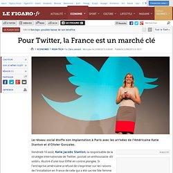 Pour Twitter, la France est un marché clé