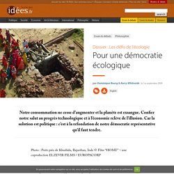 Pour une démocratie écologique - La vie des idées
