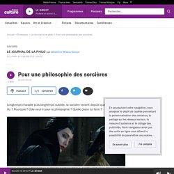 Pour une philosophie des sorcières