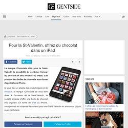 Pour la St-Valentin, offrez du chocolat dans un iPad