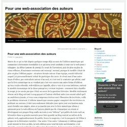 Pour une web-association des auteurs