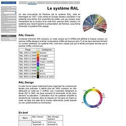 Le système RAL