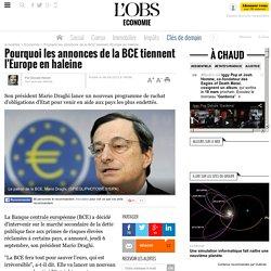 """La BCE va racheter de la dette publique de la zone euro """"sans limite"""""""