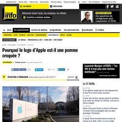 Pourquoi le logo d'Apple est-il une pomme croquée ?