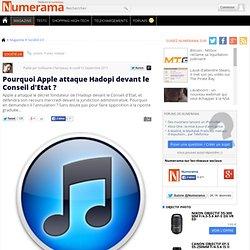 Pourquoi Apple attaque Hadopi devant le Conseil d'Etat ?