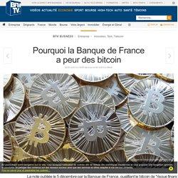 Pourquoi la Banque de France a peur des bitcoin
