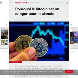 Pourquoi le bitcoin est un danger pour la planète