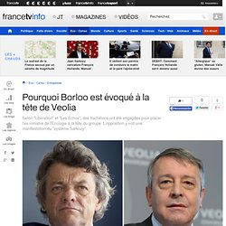 Jean-Louis Borloo pourrait mettre la main sur Veolia