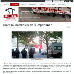 Pourquoi Botzaris36 est-il important ?