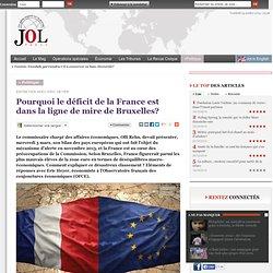 Pourquoi le déficit de la France est dans la ligne de mire de Bruxelles?