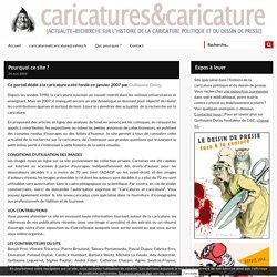 Actualité-recherche sur l'histoire de la caricature