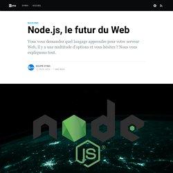 Pourquoi choisir Node.js pour vos serveurs Web ?