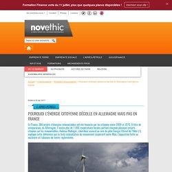 Pourquoi l'énergie citoyenne décolle en Allemagne mais pas en France