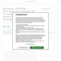 Amazon, Alibaba… Pourquoi les acteurs de l'e-commerce créent leurs propres réseaux de transport