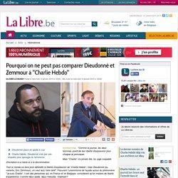 """Pourquoi on ne peut pas comparer Dieudonné et Zemmour à """"Charlie Hebdo"""""""