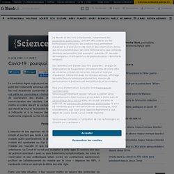 Covid-19 : pourquoi tant de confusions ? – {Sciences²}