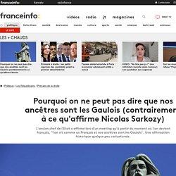 Pourquoi on ne peut pas dire que nos ancêtres sont les Gaulois (contrairement àce qu'affirme Nicolas Sarkozy)
