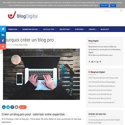 Pourquoi créer un blog pro