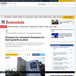 Pourquoi la croissance française va faire pschitt en 2016