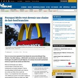 Pourquoi McDo veut devenir une chaîne de fast-food branchée