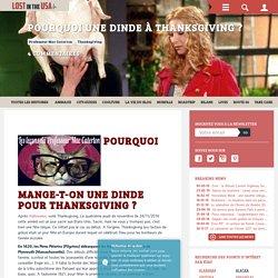 Pourquoi une dinde à Thanksgiving ?