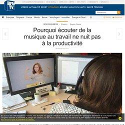 Pourquoi écouter de la musique au travail ne nuit pas à la productivité