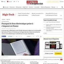 Pourquoi le livre électronique peine à s'imposer en France