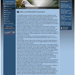 Pourquoi résister ? - www.enavantlafrancelibre.fr